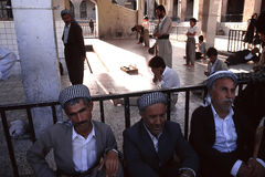 1993 nord Irak - Kurdistan Images stock
