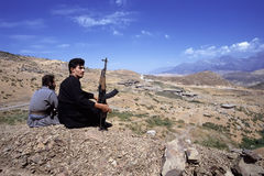 1993 nord Irak - Kurdistan Photos stock