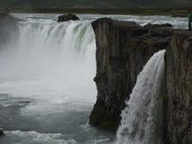 Nord Islande de Godafoss- Photos libres de droits