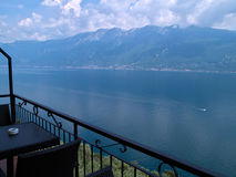 Nord Italie de l'Italie de policier de Lago di Garda Lake Photo stock