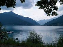 Nord Italie de l'Italie de policier de Lago di Garda Lake Photos libres de droits