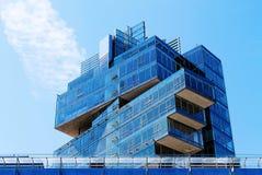 Nord LB玻璃大厦在汉诺威德国 免版税库存照片