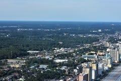 Nord-Myrtle Beach Aerial View Lizenzfreie Stockfotografie
