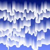 Nord- oder Polarlichter, Kopieraumhintergrund, Vektorillustration Stockbilder