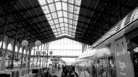 nord paris du gare Стоковая Фотография RF