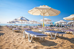 Nord part of beach in Nessebar , Bulgaria Royalty Free Stock Photography