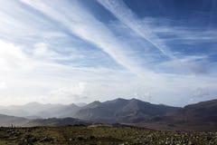 Nord Pays de Galles de montagnes de Snowdonia Images stock