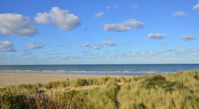 Nord , the picturesque city of Le Touquet Stock Images