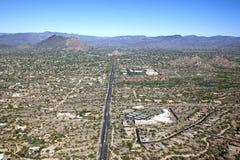Nord-Scottsdale- und Höhlen-Nebenfluss Lizenzfreie Stockbilder