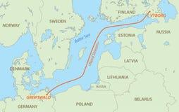 Nord Strom Ist Erdgasleitung Von Russland Nach Deutschland