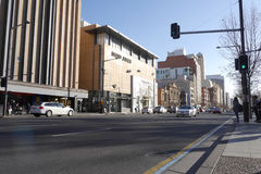 Nord- Terrasse in Adelaide, Süd-Australien Stockfotografie