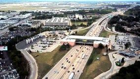 Nord und Süd-Schnellstraße 2018 Des- Plainesoasen-Illinois I294 stock video footage