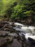 Nord-Wales-Fluss stockfotografie