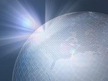 Nordamerika-Erde-Welt-Märkte Stockfoto