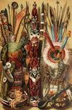 Nordamerikanische indische Kultur Stockfotografie