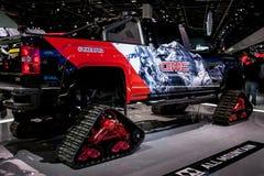 Nordamerikanische internationale Automobilausstellung 2018 lizenzfreies stockfoto