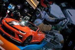 Nordamerikanische internationale Automobilausstellung 2018 lizenzfreie stockbilder