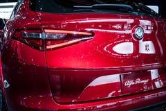 Nordamerikanische internationale Automobilausstellung 2018 stockfoto