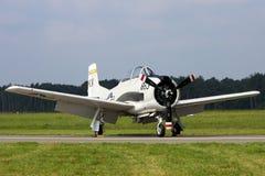 Nordamerikanische Trojan Trainerflugzeuge der Luftfahrt T-28 lizenzfreie stockfotografie