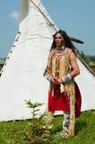 Nordamerikanischer Inder Stockfotografie