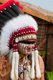 Nordamerikanischer Inder Lizenzfreie Stockbilder