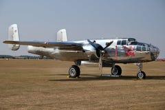Nordamerikanisches B25J Mitchell, mittlerer Bomber des zweiten Weltkriegs stockfoto