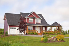 Nordamerikanisches Haus Stockfotos
