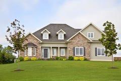 Nordamerikanisches Haus Lizenzfreie Stockbilder