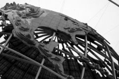 Nordamerikanisches Unisphere Stockbild