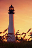 Nordansicht des Leuchtturmes Lizenzfreies Stockfoto