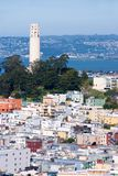 Nordbeachview, San Francisco Stockbild