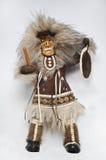 Nordbewohner einer alten Puppe Lizenzfreie Stockfotografie