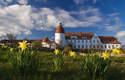 Nordborg Slot, Danish castle Royalty Free Stock Images