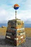 Nordcape在挪威 库存图片