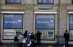 NORDEA bank Fotografia Stock