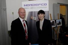 NORDEFCO_NORDIC防御合作 库存照片