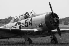 Norden - amerikansk Texan för flyg T-6 arkivbilder