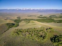Norden parkerar (Colorado) flyg- sikt Royaltyfri Fotografi