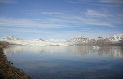 Nordenskjöldbreen Royaltyfri Bild