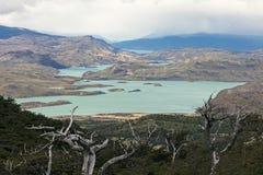 湖Nordenskjold 库存图片