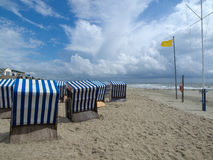 Norderney beach Royalty Free Stock Images