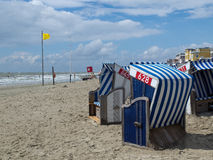 Norderney beach Royalty Free Stock Photography