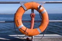 Norderney del salvagente Fotografie Stock Libere da Diritti
