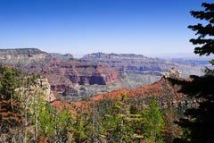 Nordfelgen-Grand Canyon Stockbild
