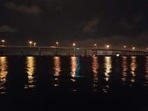 Nordfort Myers Bridge lizenzfreies stockfoto