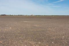 Nordfriesland. Big sandbank at low tide in Sankt Peter-Ording in Nordfriesland, Schleswig-Holstein, Germany stock photo