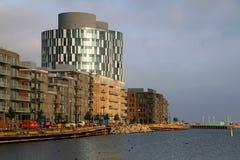2150 Nordhavn. New architecture in Copenhagen - 2150 Nordhavn Royalty Free Stock Image