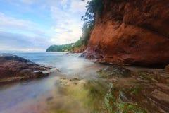 Nordheiliges Lucia Coastline Lizenzfreie Stockfotografie