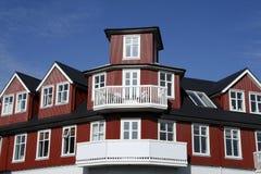 Nordic architecture Stock Image