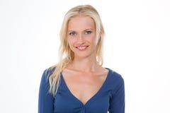 Nordic bonito que racha um sorriso Imagens de Stock